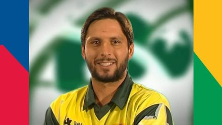 What is Shahid Afridi's favourite shot? | T20 Takes Off