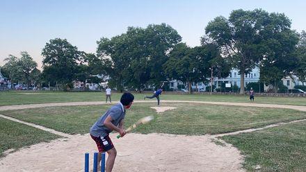 Boston, Massachusetts, U.S.: Where cricket meets baseball. Photo credit: Istiak Ahmed