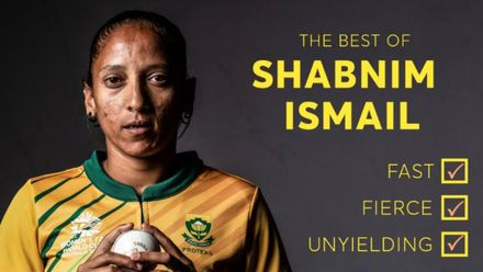Fast, fierce and unyielding – the best of Shabnim Ismail | Bowlers Month