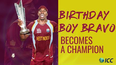Birthday boy Dwayne Bravo is a champion | T20WC 12