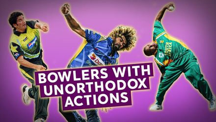 Unusual bowling actions | Bowlers Month