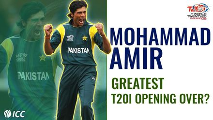 Mohammad Amir sets Pakistan on road to victory in 2009 T20WC with an all-time great over | Bowlers Month