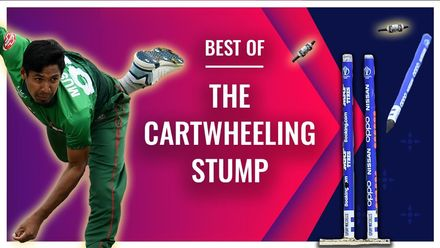 The sweet music of cartwheeling stumps | Bowlers Month