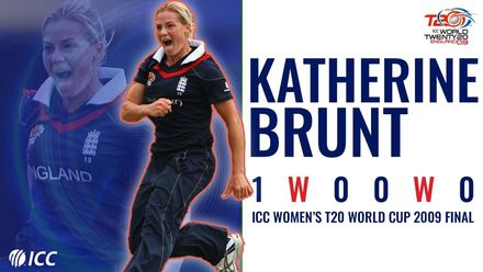 Black-eyed Katherine Brunt stuns New Zealand in 2009 T20WC final | Bowlers Month