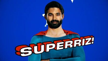It's a Bird, It's a Plane ... It's SuperRiz!
