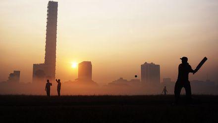 Rise and shine! Location: Kolkata, India. Photo credit: Dipanjan Chakraborty