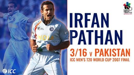 Irfan Pathan rises to the occasion with 3/16 | T20WC 07 final