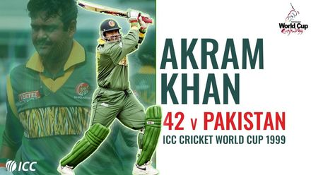 Akram Khan stars in one of CWC's greatest upsets