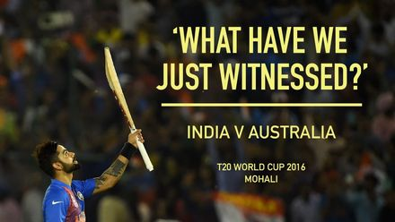 Kohli v Australia: 'He likes a fight, he likes a scrap' | T20WC16