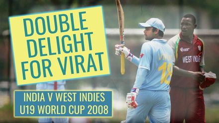 Double delight for Virat Kohli | U19 CWC 2008