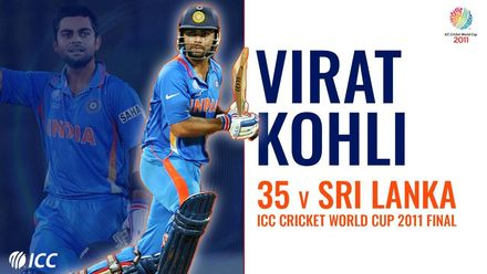Is this Virat Kohli's most underrated knock? | CWC 2011 final