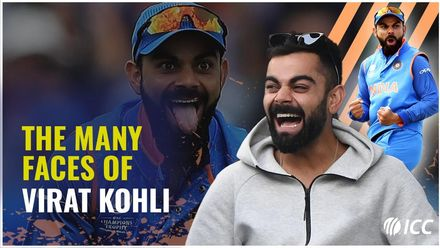 The many faces of Virat Kohli!