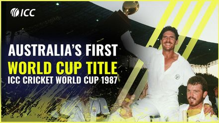 Australia beat England in thrilling final   CWC 1987