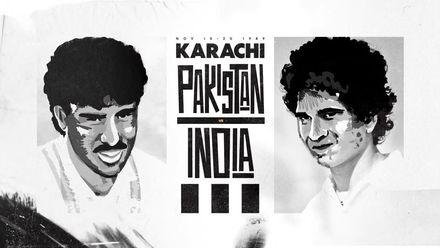 Two legends, one beginning – Sachin and Waqar
