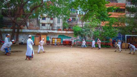 Can you spot the ball? Location: Dhaka, Bangladesh. Photo credit: Shoeb Ahmed