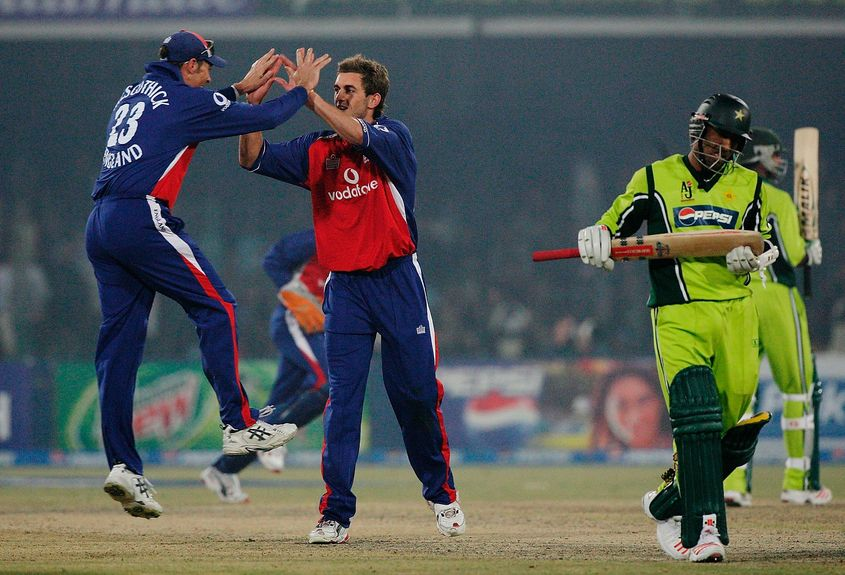 England last played a series in Pakistan in 2005