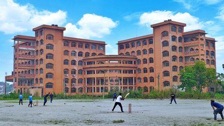Cricket with friends. Location: Barisal University, Bangladesh. Photo credit: Ashim Halder