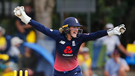 Sarah Taylor | ICC Women's Player of the Decade nominee