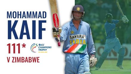 A Mohammad Kaif special | ICC Champions Trophy 2002