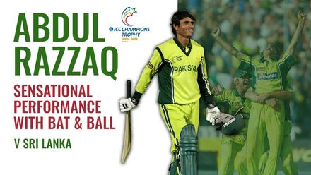 Abdul Razzaq tears through Sri Lanka with bat and ball | ICC Champions Trophy 2006