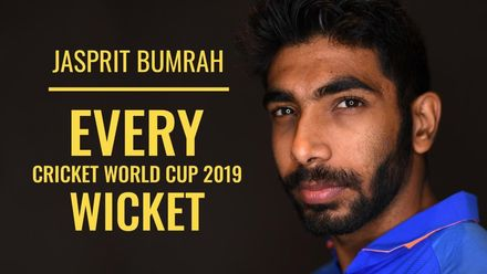 Every Bumrah wicket from CWC19