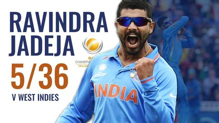 Ravindra Jadeja casts spell around West Indies | CT13
