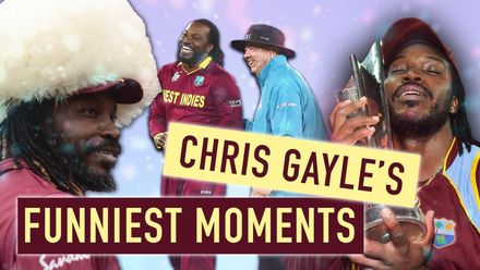 The best of Chris Gayle | Funny moments from the Universe Boss