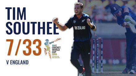 Tim Southee stuns England | CWC 2015