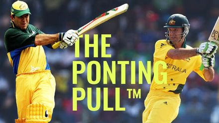 Ricky Ponting: A master of the pull shot!
