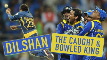 The King of caught and bowled! | The best of Tillakaratne Dilshan