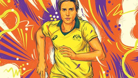 ICC Awards of the Decade – Ellyse Perry bowling