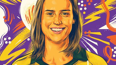 ICC Awards of the Decade – Ellyse Perry portrait