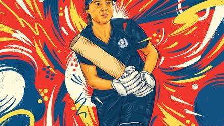 ICC Awards of the Decade – Kathryn Bryce batting