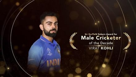 Sir Garfield Sobers Award for ICC Male Cricketer of the Decade: Virat Kohli