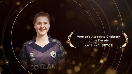 ICC Women's Associate Cricketer of the Decade: Kathryn Bryce