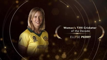 ICC Women's T20I Cricketer of the Decade: Ellyse Perry
