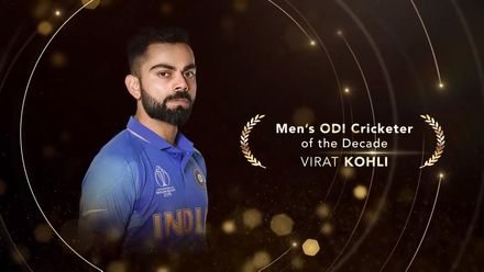 ICC Men's ODI Cricketer of the Decade: Virat Kohli