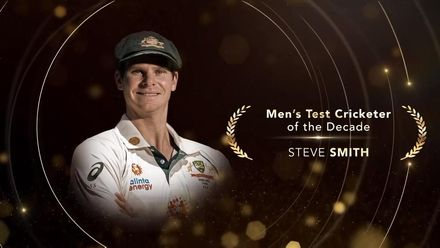 ICC Men's Test Cricketer of the Decade: Steve Smith