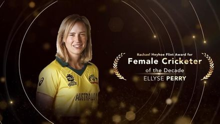 Rachael Heyhoe Flint Award for ICC Female Cricketer of the Decade: Ellyse Perry