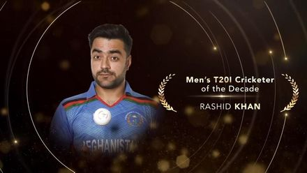 ICC Men's T20I Cricketer of the Decade: Rashid Khan