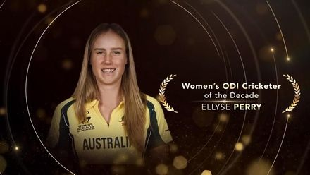 ICC Women's ODI Cricketer of the Decade: Ellyse Perry