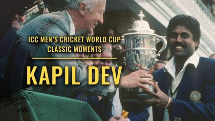 Kapil Dev and the story of the 1983 World Cup