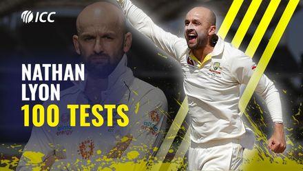 Nathan Lyon cherishing 100-Test milestone