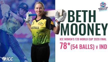 Beth Mooney's match winning innings in the Women's T20 World Cup 2020 final