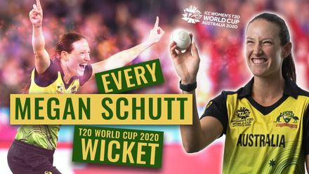 Every Megan Schutt wicket from the Women's T20 World Cup 2020
