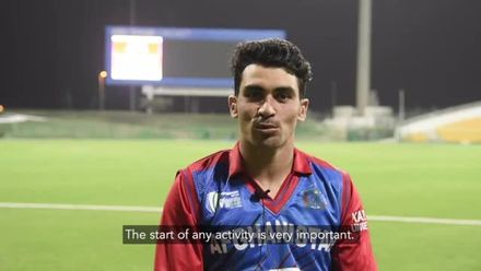 Rahmanullah Gurbaz reflects on a wonderful debut for Afghanistan
