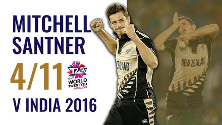 Santner's stunning T20 World Cup debut