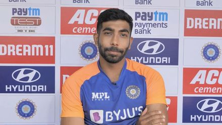 Bumrah 'happy' with his first Test outing in India and hoping to 'make more chances'