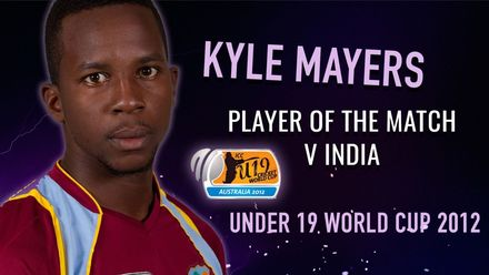 All-round Kyle Mayers overwhelms India | 2012 U19 CWC