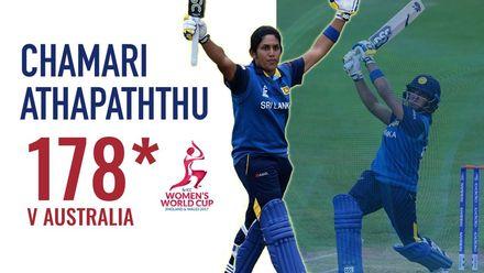 Chamari Athapaththu's stellar World Cup knock!